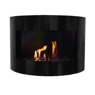 Bio ethanol wall fireplaces