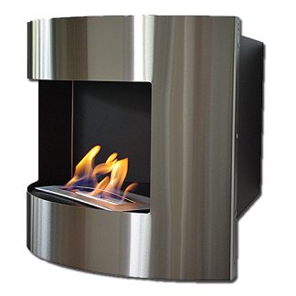 Bio ethanol corner fireplaces